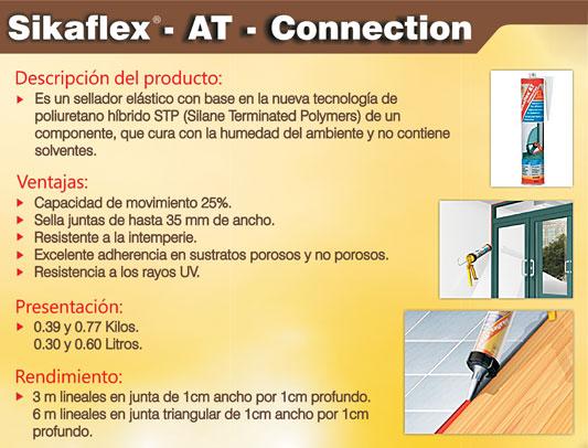 Selladores y adhesivos - Sikaflex at connection ...